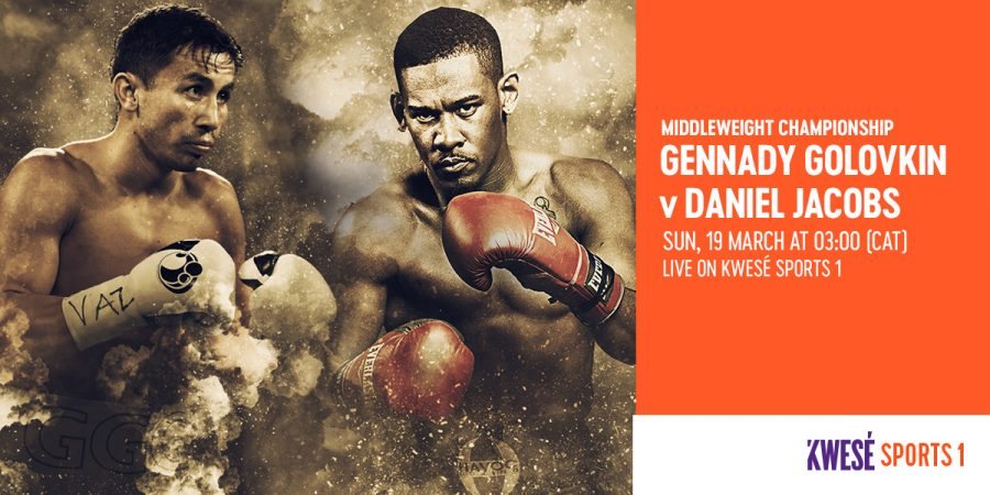 Golockin vs. Jacobs Exclusive on Kwese Sports 1