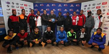 The captains of the competing teams during the 2017 Engen Knockout Cape Town Media Draw at Tugela Conference Room, River Club, Observatory, Cape Town on 20 June 2017 ©Chris Ricco/BackpagePix