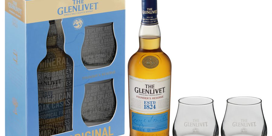 The Glenlivet Founder's Reserve GIFT PACK FESTIVE SEASON 2017