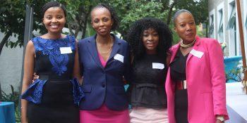 Cambridge Weight Plan's Nonceba Ncapai, Renny Letsoalo, Daisy Moremi, and Menge Letsoalo
