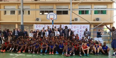 NBA Africa - AFD Group Photo
