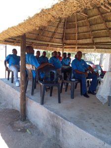 Stokvel Members in a meeting